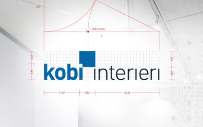 New visual identity of Kobi Interieri
