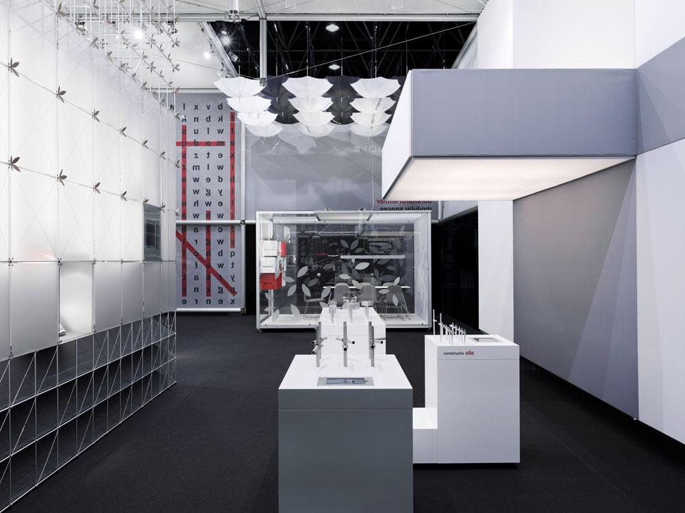 Predstavitev razstavne konstrukcije Burkhardt Leitner Modular Spaces