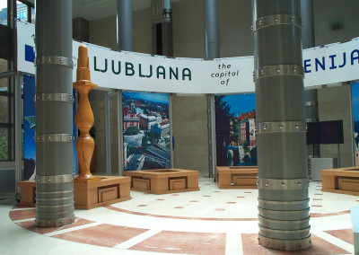 Ljubljana, the capital of Slovenija