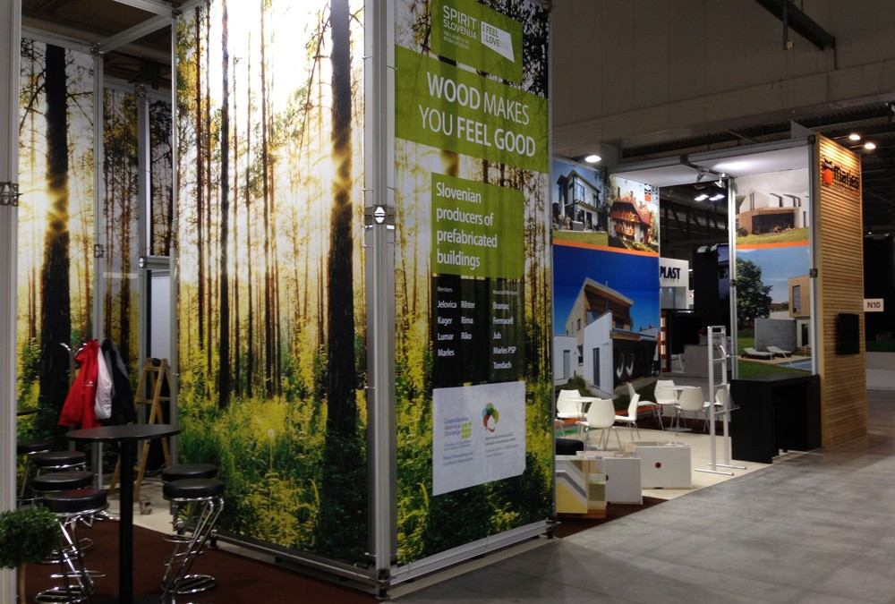 SPIRIT SLOVENIA group exhibition stands