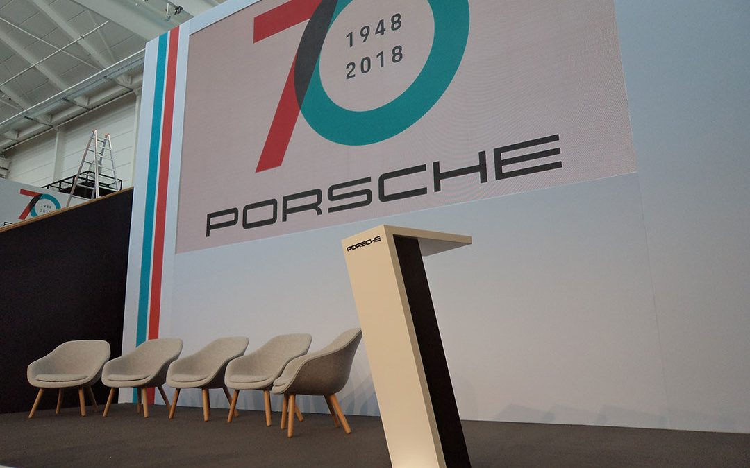 70 years of Porsche factory