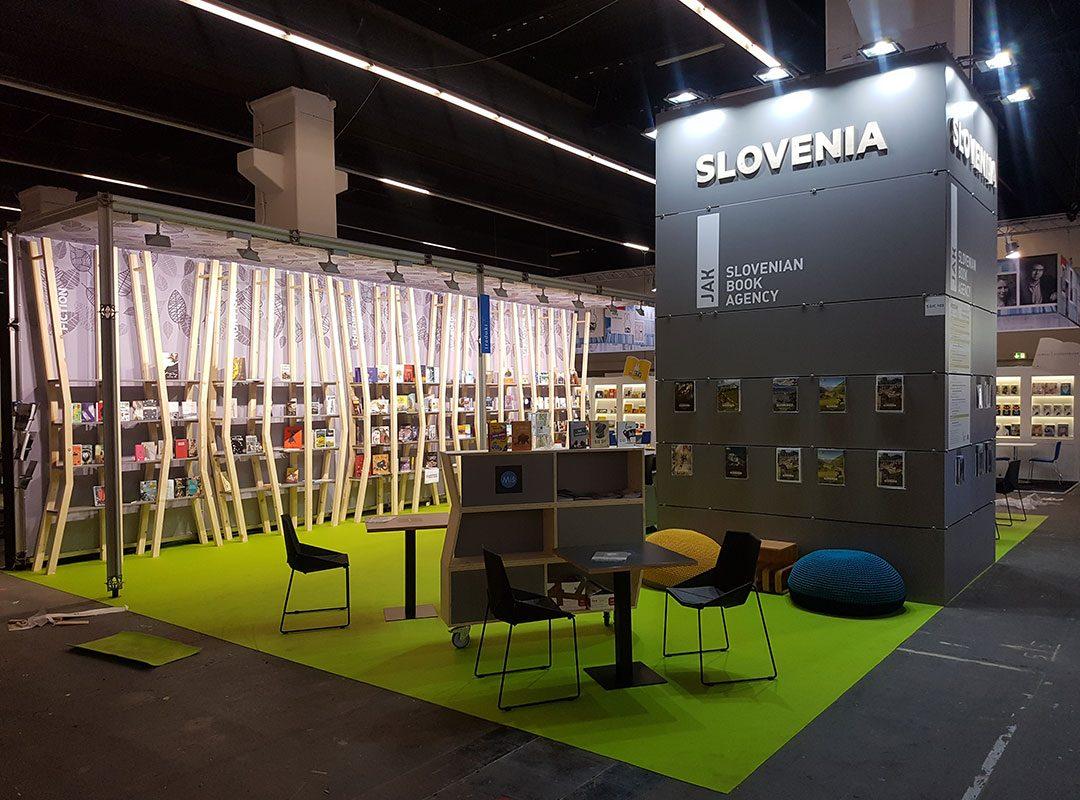 Sejemski prostor JAK Slovenian Book Agency