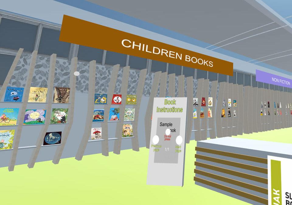 JAK – VR sejemske stojnice na Frankfurt digital book fair 2020