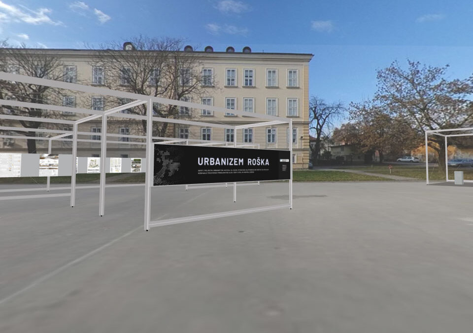 MIZS RS – VR razstava natečajnih projektov »Roška«